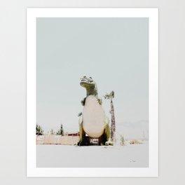 Dinosaur in Cabazon Art Print