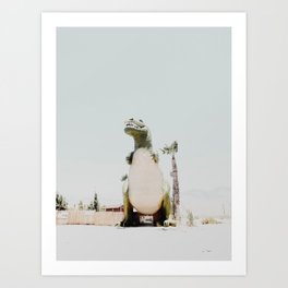 Dinosaur in Cabazon Art Print