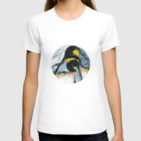penguins T-shirts featuring Penguins by James Peart