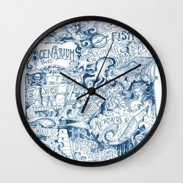 Ocenarium Wall Clock