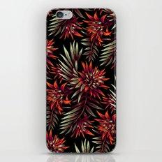 Aechmea Fasciata - Dark Orange / Purple iPhone & iPod Skin