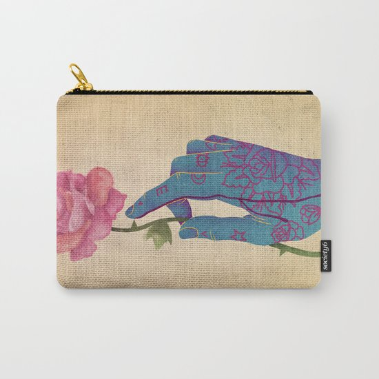 Beautiful pain Carry-All Pouch