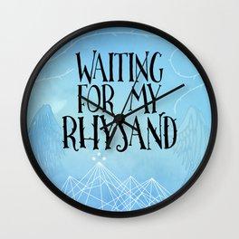 ACOTAR - Waiting for my Rhysand Wall Clock
