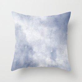 Cloud Grunge Texture  Throw Pillow