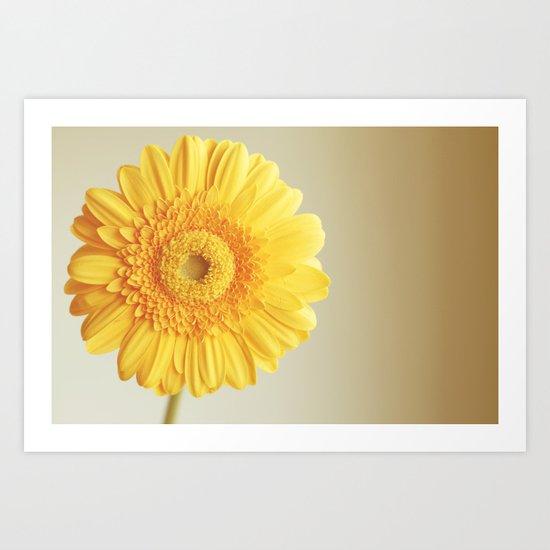 Sunshine and lollipops Art Print