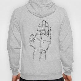 Ink doodle hand #1 Hoody