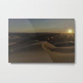 Imperial Sand Dunes 2 Metal Print