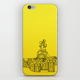 Yellow Submarine Solo iPhone Skin