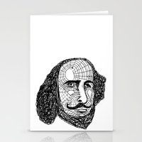 shakespeare Stationery Cards featuring William Shakespeare by Feld Sprucetree