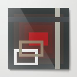 Abstract Composition 660 Metal Print