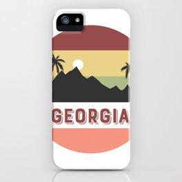 georgia Retro Country iPhone Case
