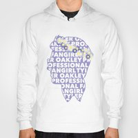 fangirl Hoodies featuring Professional fangirl Tyler Oakley by ElectricShotgun