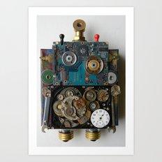 Beep Boop Bot Art Print