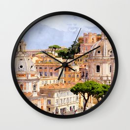 This is rome Wall Clock
