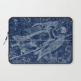 Virgo sky star map Laptop Sleeve