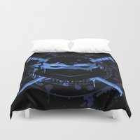 leonardo Duvet Covers featuring Leonardo Turtle by Sitchko Igor