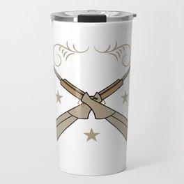 "A Shooting Tee For Granny ""Best Buckin' Grandpa"" T-shirt Design Deer Hunting Shoot Animal Outdoor Travel Mug"