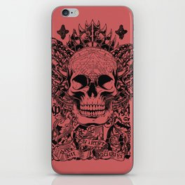 Cobra skull iPhone Skin
