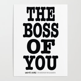 Boss of You Poster