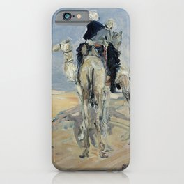 Max Slevogt Sandstorm in the Libyan Desert iPhone Case