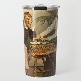 Vintage poster - Mistakes Will Happen Travel Mug