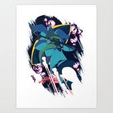 Anavel Gato's MS-14 Gelgoog Art Print