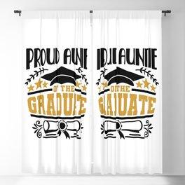 Proud Auntie Of The Graduate Blackout Curtain