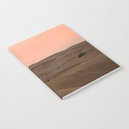 Arabian Desert Sunset Notebook