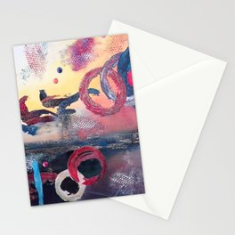 Art.For the people by Ildiko Csegoldi Stationery Cards