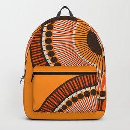 Tiger Eye Mandala Backpack
