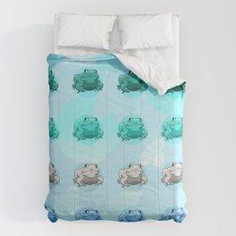 mlm Pride Frogs Comforters