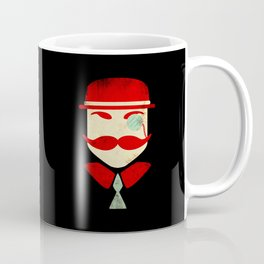 Monocle Man Coffee Mug