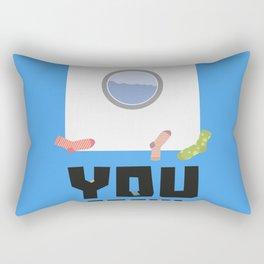 You Sock Funny Slogan Rectangular Pillow