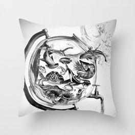 The Spill Throw Pillow