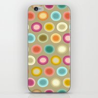 buffy iPhone & iPod Skins featuring polka buffy by Sharon Turner