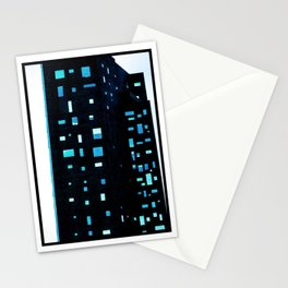 Building at Dusk - New York City Stationery Cards