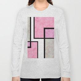 Pink Tiles Long Sleeve T-shirt