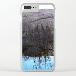 Reflecting Nature Clear iPhone Case