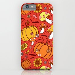 Psychedelic Fall iPhone Case