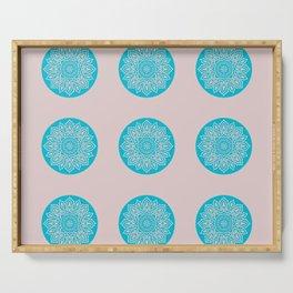 Happy Mandala Pattern Serving Tray