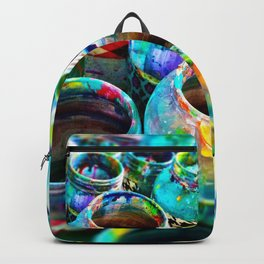 Paint jars Backpack