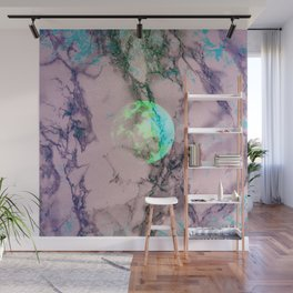 Marble Moon Wall Mural