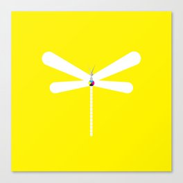 LibelluleMonde Yellow Branding Canvas Print