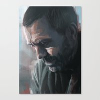 house md Canvas Prints featuring House MD by JackCat