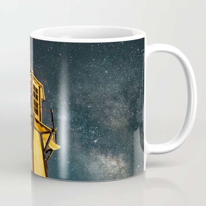 Mountain Light House Two Coffee Mug