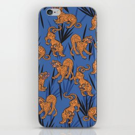 Summer Jungle Tropical Tiger iPhone Skin