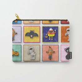Halloween Character Pattern Carry-All Pouch