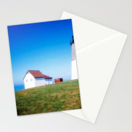 The Point Judith Light is located on the west side of the entrance to Narragansett Bay Stationery Cards
