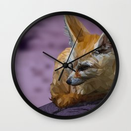 Naranja - Fennec Fox Wall Clock