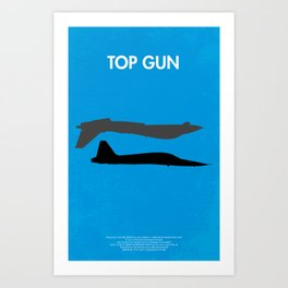 Top Gun  Art Print